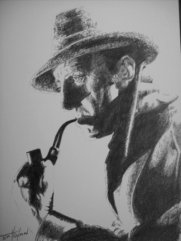 Basil Rathbone by Tom-Heyburn